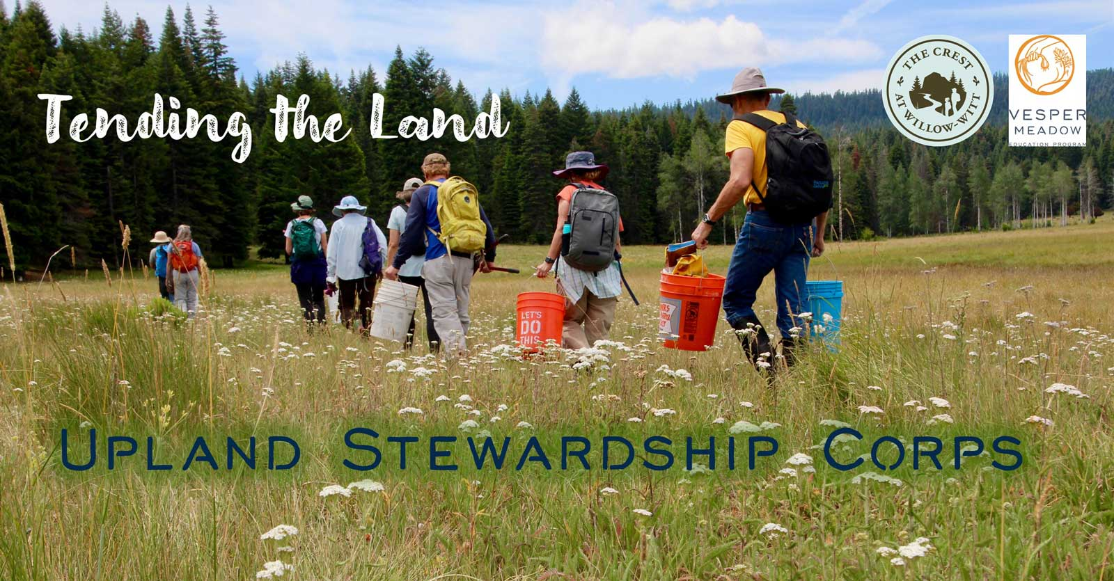 Upland Stewardship Corps volunteer registration